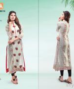 Warda Designer Spring Summer Dresses 2015 For Girls 7