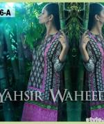 Yahsir Waheed Spring Summer Dresses 2015 For Girls 3
