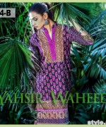 Yahsir Waheed Spring Summer Dresses 2015 For Girls 5