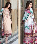 Zahra Ahmad Lawn Dresses 2015 For Summer 2