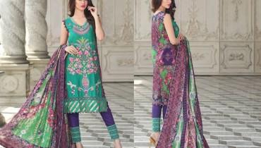 Zahra Ahmad Lawn Dresses 2015 For Summer 3