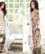 Zahra Ahmad Lawn Dresses 2015 For Summer 4