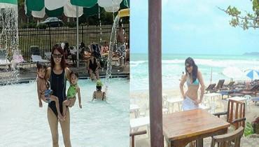 pakistani actresses on beach pics