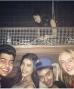 urwa hocane in a club