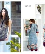 Bashir Ahmad Textiles Single Shirts Collection 2015 For Women 003