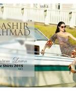 Bashir Ahmad Textiles Single Shirts Collection 2015 For Women 006