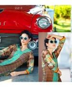 Bashir Ahmad Textiles Single Shirts Collection 2015 For Women 009