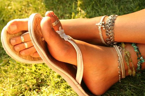 Beautiful Feet in Summers
