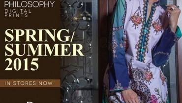 Deepak Perwani Spring Summer Dresses 2015 For Girls 3