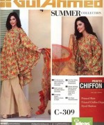 Gul Ahmed Lawn Collection 2015 Volume 1 For Women 004