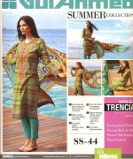 Gul Ahmed Lawn Collection 2015 Volume 1 For Women 005