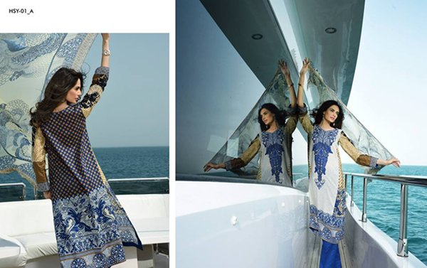 HSY Lawn Collection 2015 By Ittehad Textiles 0015