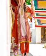 Ittehad Textiles Crystal Lawn Collection 2015 For Women 0010