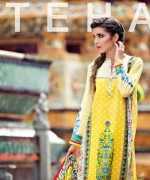 Ittehad Textiles Crystal Lawn Collection 2015 For Women 009