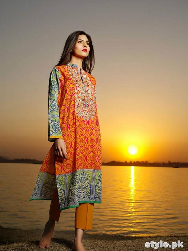 Khaadi Lawn Dresses 2015 For Summer 11