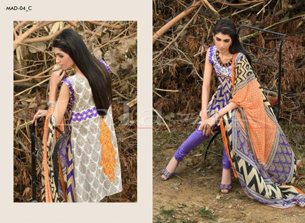 Lala Tetiles Madham Embroidered Lawn Collection 2015 For Women 007