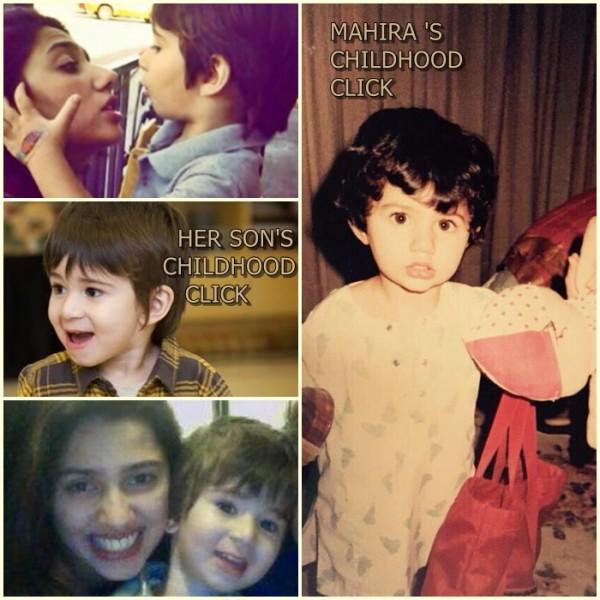 Mahira Khan childhood and her son