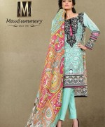 Mausummery Lawn Collection 2015 Volume 1 For Women 009