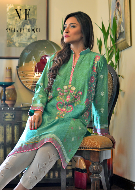 Nadia Farooqui Spring Collection 2015 For Women 0013