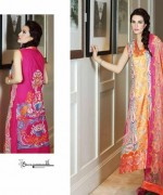 Nadia Hussain Lawn Collection 2015 By Shariq Textiles 007