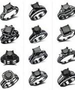 New Designs Of Black Diamond Rings 2015 001