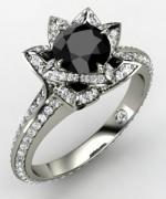 New Designs Of Black Diamond Rings 2015 0010