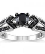 New Designs Of Black Diamond Rings 2015 0013