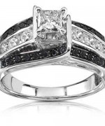 New Designs Of Black Diamond Rings 2015 0015