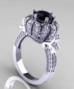 New Designs Of Black Diamond Rings 2015 0017