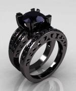 New Designs Of Black Diamond Rings 2015 0018