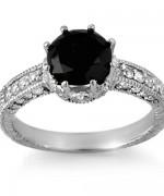 New Designs Of Black Diamond Rings 2015 005