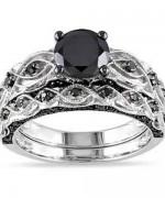 New Designs Of Black Diamond Rings 2015 008
