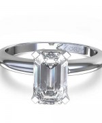 New Designs Of Emerald Cut Engagement Rings 2015 0011