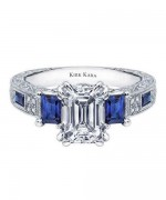 New Designs Of Emerald Cut Engagement Rings 2015 0016