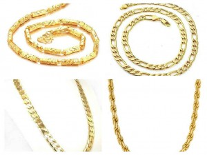 New Designs Of Gold Chains For Men 2015