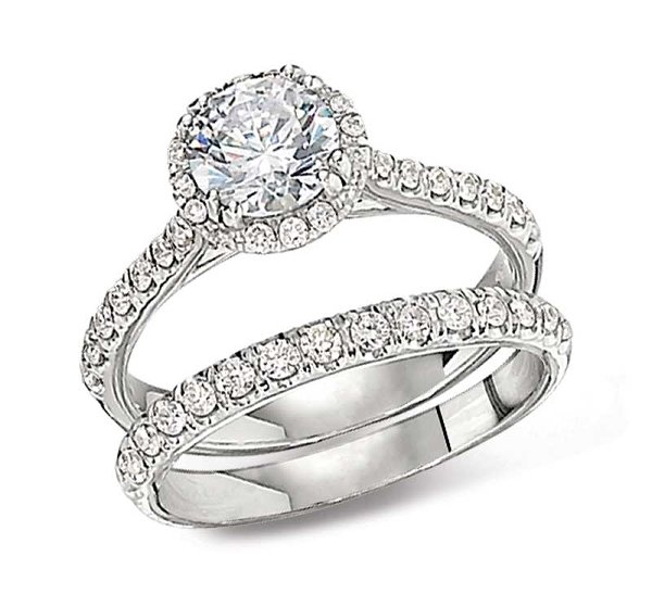 New Designs Of Halo Engagement Rings 2015 002