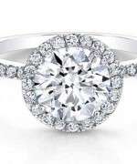 New Designs Of Halo Engagement Rings 2015 007