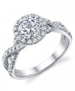 New Designs Of Halo Engagement Rings 2015 012