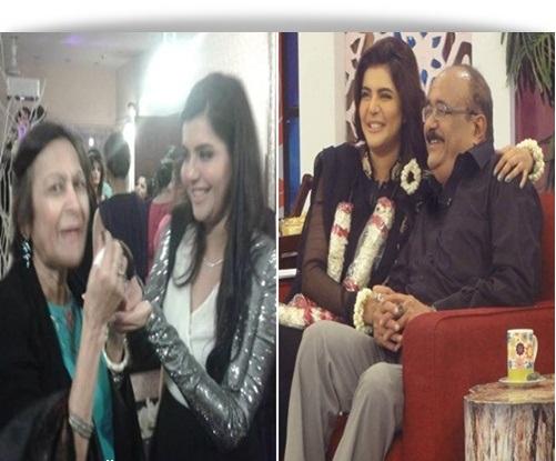 Nida yasir family