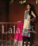 Sana and Samia Lawn Dresses 2015 by Lala 10