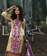 Sana and Samia Lawn Dresses 2015 by Lala 12