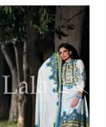 Sana and Samia Lawn Dresses 2015 by Lala 13