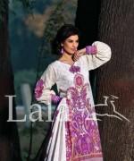 Sana and Samia Lawn Dresses 2015 by Lala 19