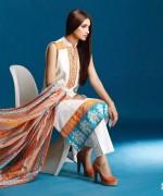 Vaneeza Lawn Prints 2015 For Summer 1