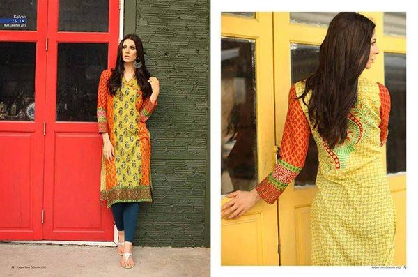 ZS Textile Embroidered Lawn Collection 2015 For Women 0010
