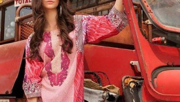 ZS Textile Embroidered Lawn Collection 2015 For Women 004