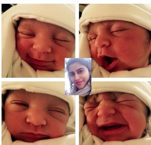 alishba yousuf baby