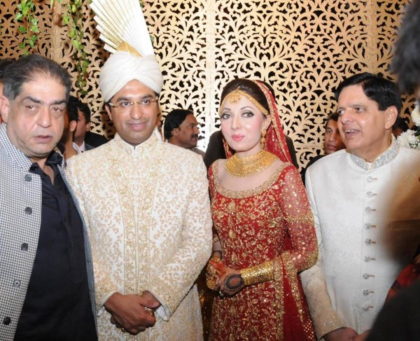 Wedding Pictures Of Sharmila Farooqi