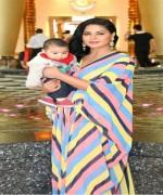 veena malik with her son on birthday