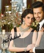 Atif Aslam And Saeeda Imtiaz Photoshoot For Damas 003